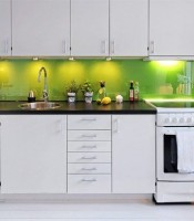 jual kitchen set single line