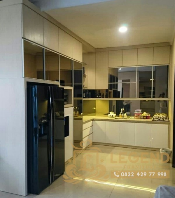 harga kitchenset di jogja minimalis hanya di legend furniture