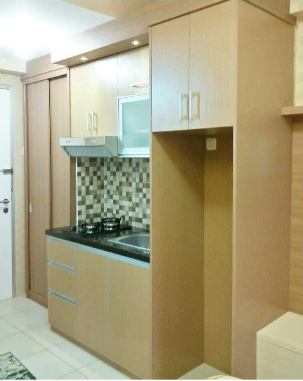 Kitchen set minimalis hpl kotagede legend furniture 0822 429 77998