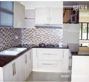 Kitchen Set Minimalis HPL di Bantul