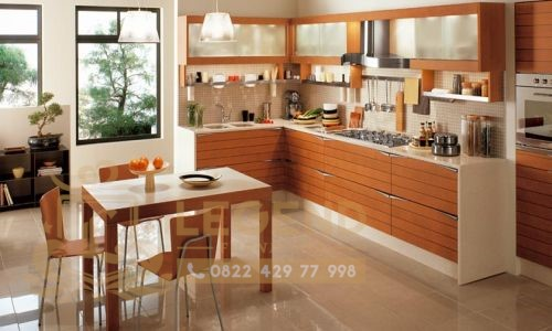 model kitchen set L
