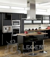 Kitchen set warna hitam